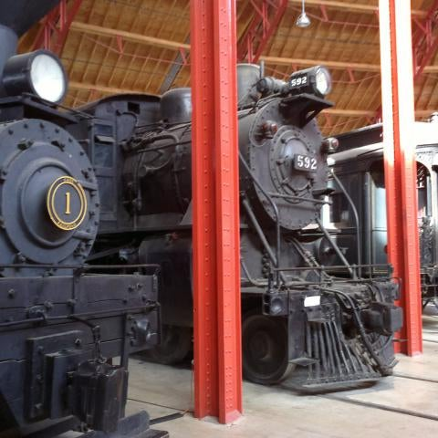 Photo taken at B & O Railroad Museum by Avri B. on 1/29/2012