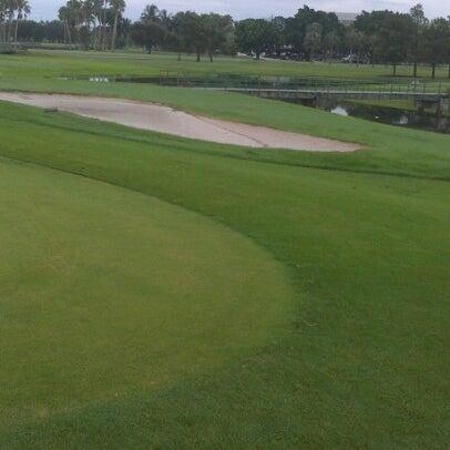 Photo taken at Palmetto Golf Course by Dedrick B. on 7/12/2012