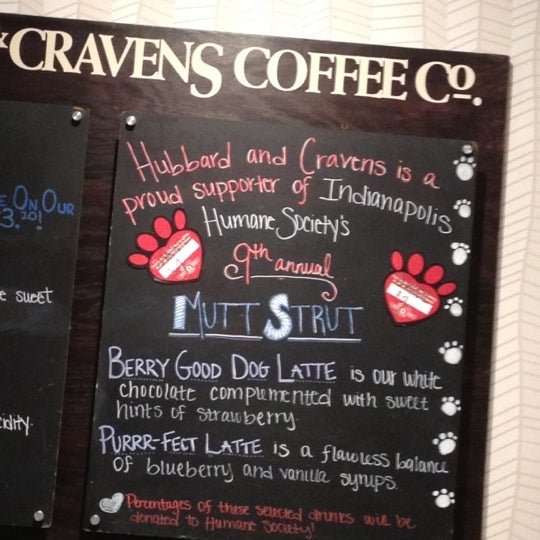 Photo taken at Hubbard & Cravens Coffee and Tea by Ben R. on 4/6/2012
