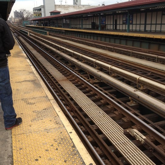 Photo taken at MTA Subway - Fordham Rd (4) by Angie C. on 3/3/2012