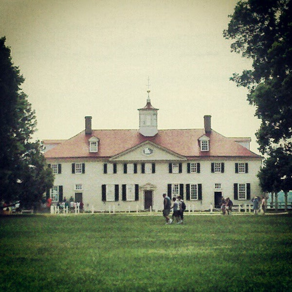 Photo taken at George Washington's Mount Vernon by Paul H. on 7/11/2012