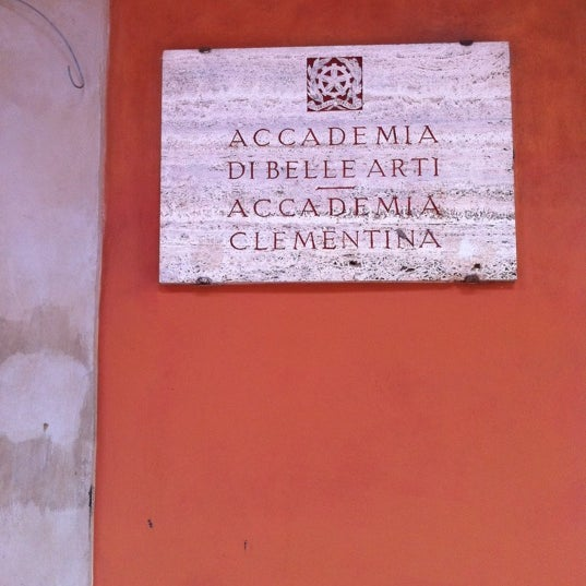 Photo taken at Accademia delle Belle Arti by Marco C. on 4/20/2012