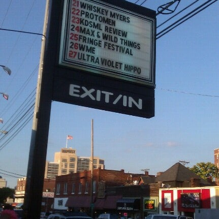 Photo taken at Exit/In by Krissy R. on 6/23/2012
