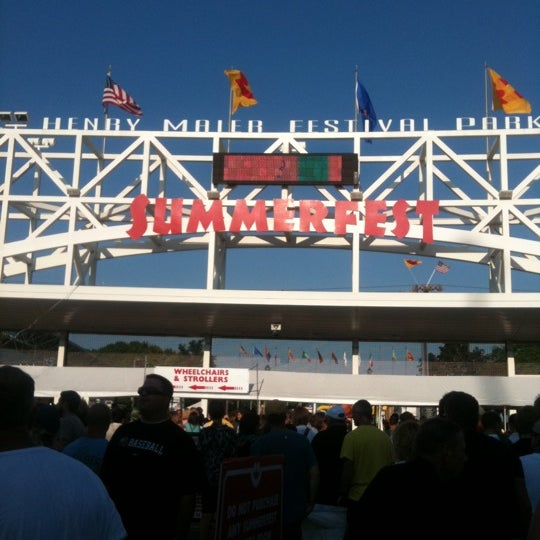 Photo taken at Summerfest 2011 by Mike M. on 7/6/2011