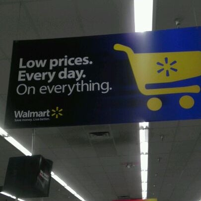Photo taken at Walmart Supercenter by Andy B. on 1/22/2012