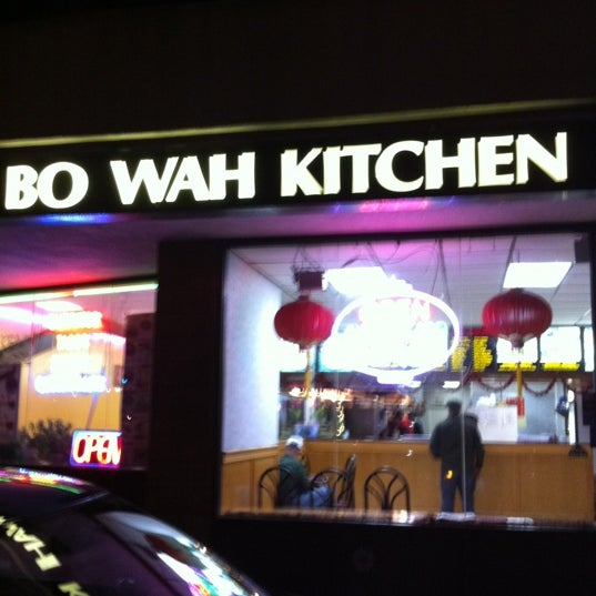 Bo Wah Kitchen Food Menu