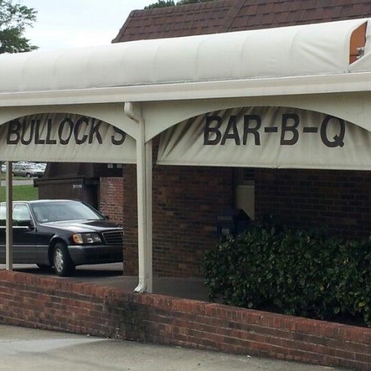 Photo Taken At Bullock 39 S Bar B Cue By Art M