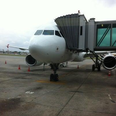 Снимок сделан в Международный аэропорт Конгоньяс/Сан-Паулу (CGH) пользователем Evandro S. 7/31/2012