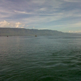 Photo taken at KMP Ferry Tao Toba Ajibata by aquino p. on 1/2/2012