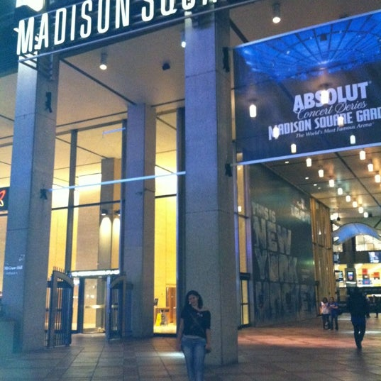 Theater at madison square garden music venue in chelsea for Best restaurants near madison square garden
