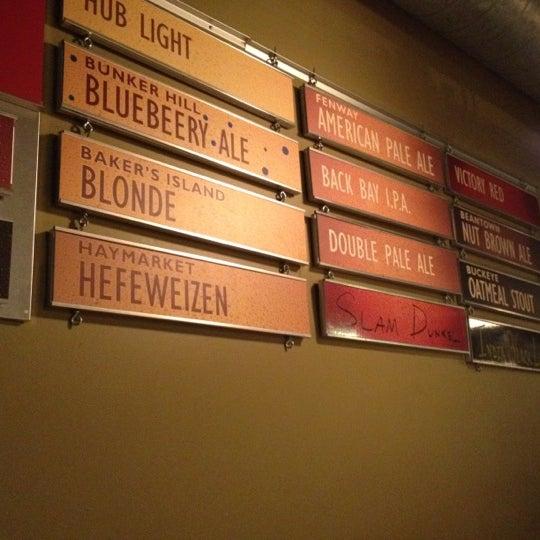 Photo taken at Boston Beer Works by Rylan H. on 5/22/2012