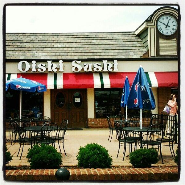 Photo taken at Oishi Sushi by Dan B. on 8/4/2012