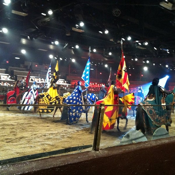 Leave your car behind and ride with us to and from Medieval Times Dinner & Tournament. A medieval-style game and four-course meal in Buena Park, next to Knott's Berry Farm.