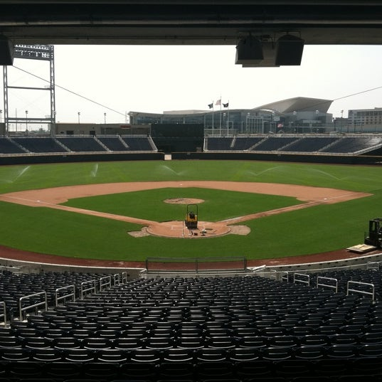 Photo taken at TD Ameritrade Park by Christopher N. on 6/7/2011