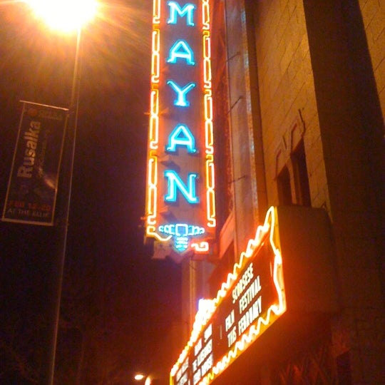 Photo taken at Mayan Theatre by Jen S. on 2/13/2011