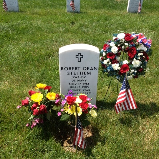 Photo taken at Arlington National Cemetery by Brian F. on 5/28/2012