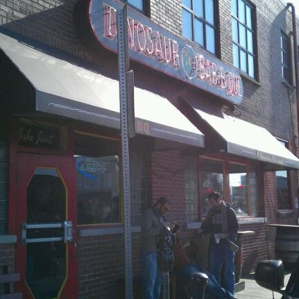 Photo taken at Dinosaur Bar-B-Que by Marc on 11/12/2011