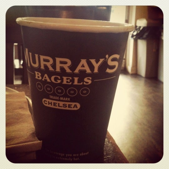 Photo taken at Murray's Bagels by Daniel C. on 12/30/2011