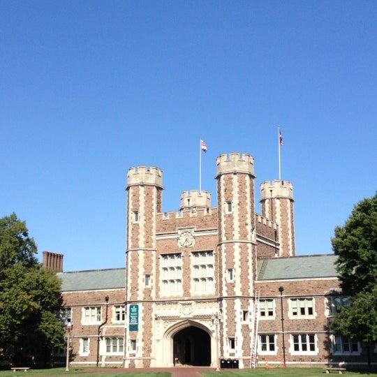 Photo taken at Washington University by Mack B. on 8/21/2012