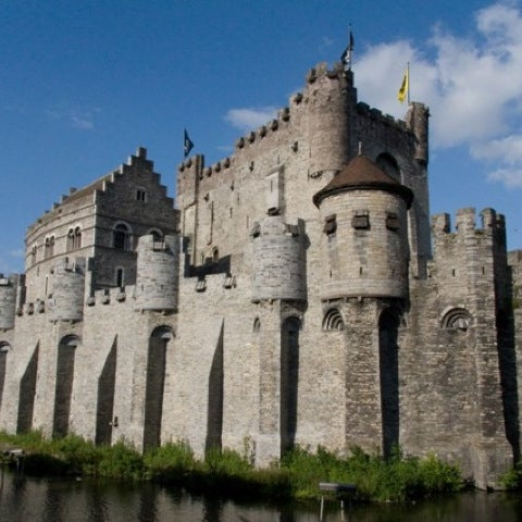 Photo taken at Castle of the Counts by Nasri A. on 8/7/2012