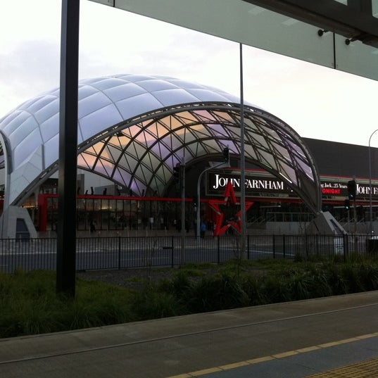 Photo taken at Entertainment Centre Tram Stop by Mandi W. on 10/8/2011