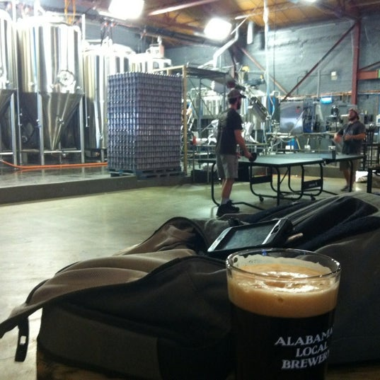 Photo taken at Good People Brewing Company by Deon G. on 3/15/2012