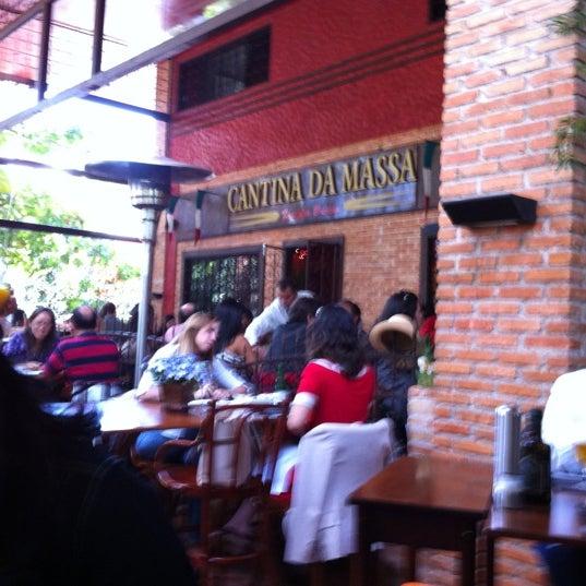 Foto tirada no(a) Cantina da Massa por Fabíola A. em 6/1/2012