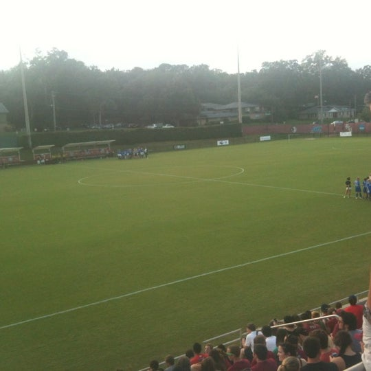 Photo taken at The Seminole Soccer Complex by Gregory G. on 9/13/2012