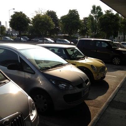 Photo taken at Parcheggio Via Sassonia by Namer M. on 7/26/2012