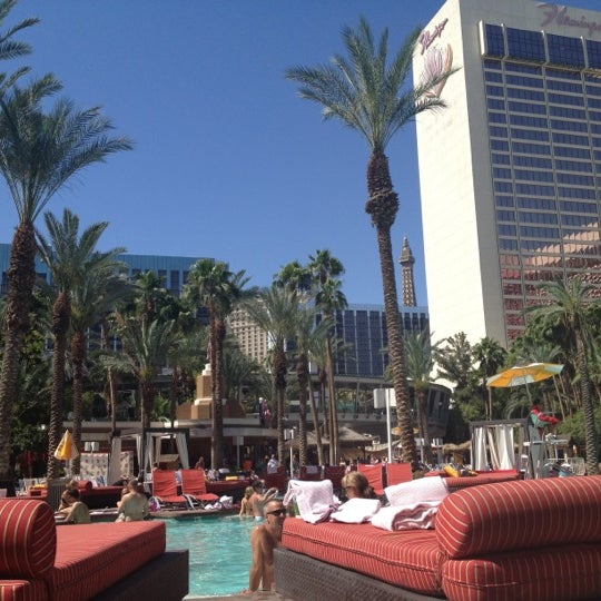 Photo taken at Flamingo GO Pool by Rob D. on 6/13/2012