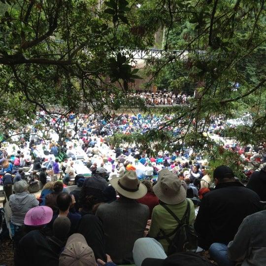 Photo taken at Sigmund Stern Grove by Derek G. on 7/8/2012
