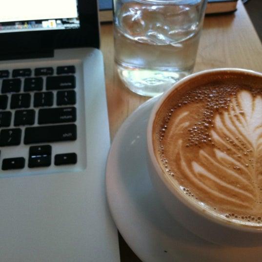 Photo taken at Bodhi Coffee by Amanda A. on 5/19/2012