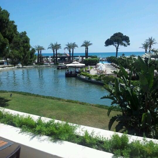 7/2/2012 tarihinde Gonca K.ziyaretçi tarafından Rixos Premium Belek'de çekilen fotoğraf