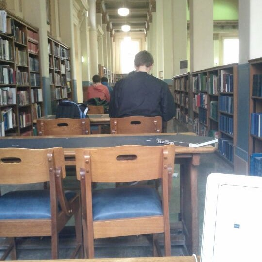 Photo taken at Barr Smith Reading Room by mccoynan on 5/25/2012