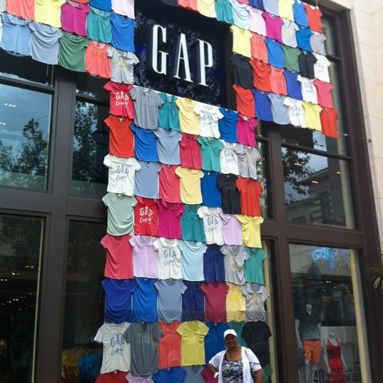 Photo taken at Gap by Courtney H. on 5/25/2012