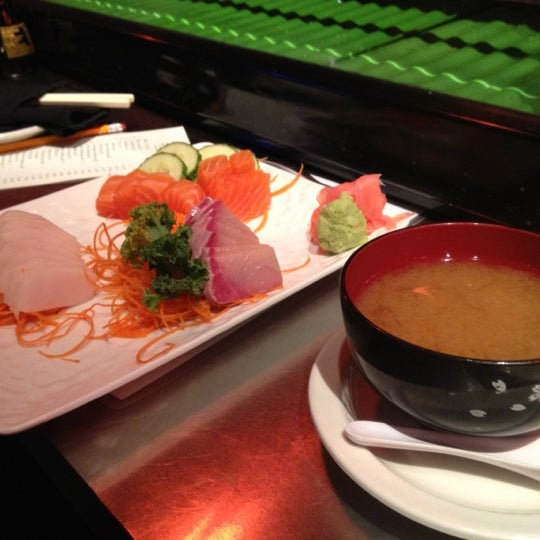 Photo taken at Sushi On The Rocks by Nathan R. on 2/26/2012