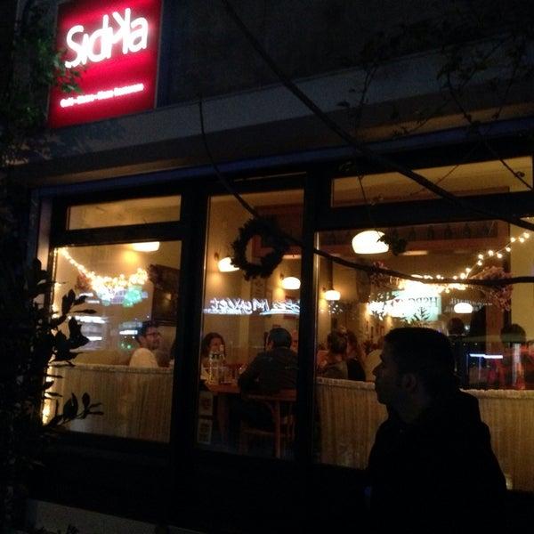 Photo taken at Sıdıka Meze Restoranı by Ian E. on 12/13/2013