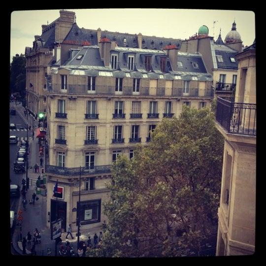 Photo taken at Belloy Saint Germain by Евгения Ж. on 9/14/2012