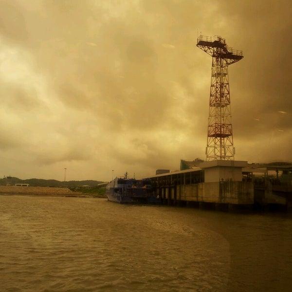 Photo taken at Taipa Ferry Terminal by Zainuddin H. on 7/7/2013