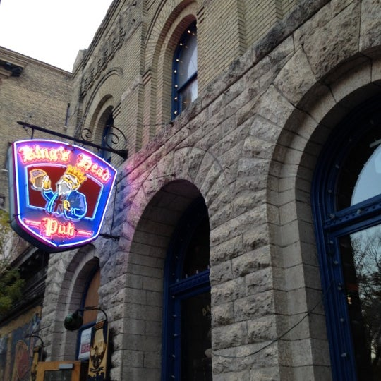 Photo taken at King's Head Pub by Nicole B. on 9/30/2012