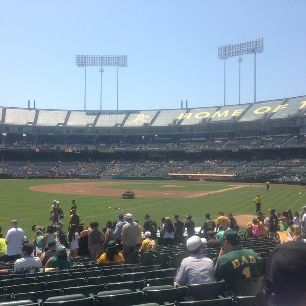 Photo taken at O.co Coliseum by Darrick S. on 7/4/2013