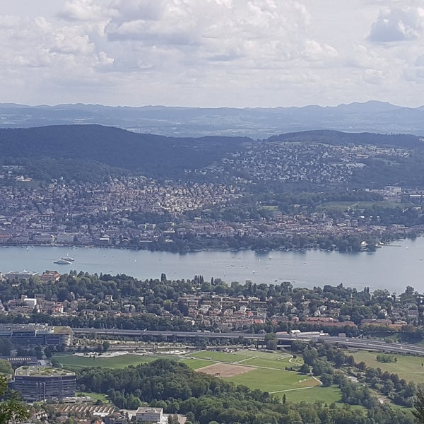 The tower is well worth the ~2 CHF because of the beautiful view of Zurich you get. It's also a great place for a casual walk or hike