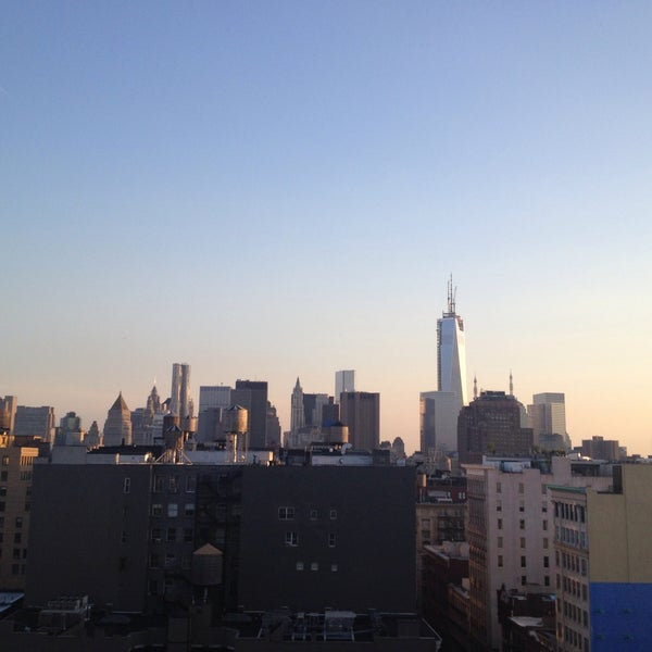 Photo taken at Meetup HQ Roof Deck by Andy S. on 5/16/2013