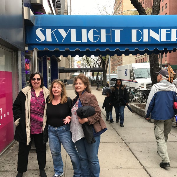 Photo taken at Skylight Diner by Stephanie S. on 4/20/2017