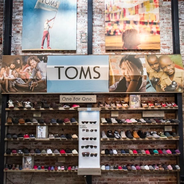 Obviously Lorin made the list, since they made it, & they have one of the raddest TOMS Shoes & TOMS Eyewear displays around! Drop in; say hey; pick up a pair of som'n. Propel the One for One movement.