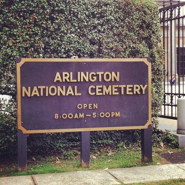 Photo taken at Arlington National Cemetery by Joseph D. on 10/20/2012