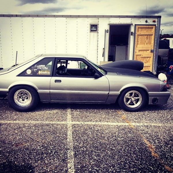 Photo taken at Atco Raceway by Ryan W. on 10/27/2012