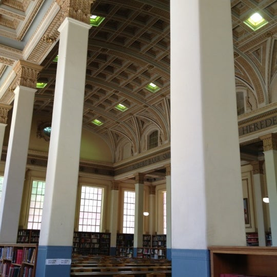 Photo taken at Barr Smith Reading Room by Mal B. on 11/27/2012