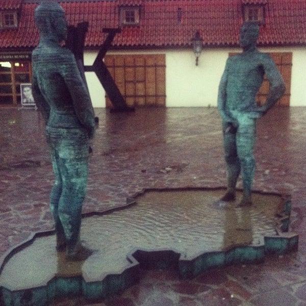 6/2/2013 tarihinde Veronika G.ziyaretçi tarafından Franz Kafka Museum'de çekilen fotoğraf