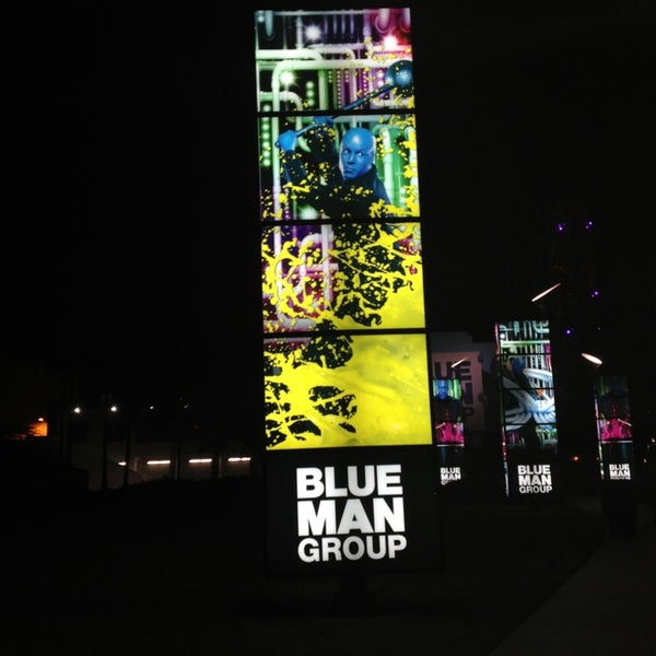 Photo taken at Blue Man Group at Universal CityWalk by Ramón R. on 1/27/2013